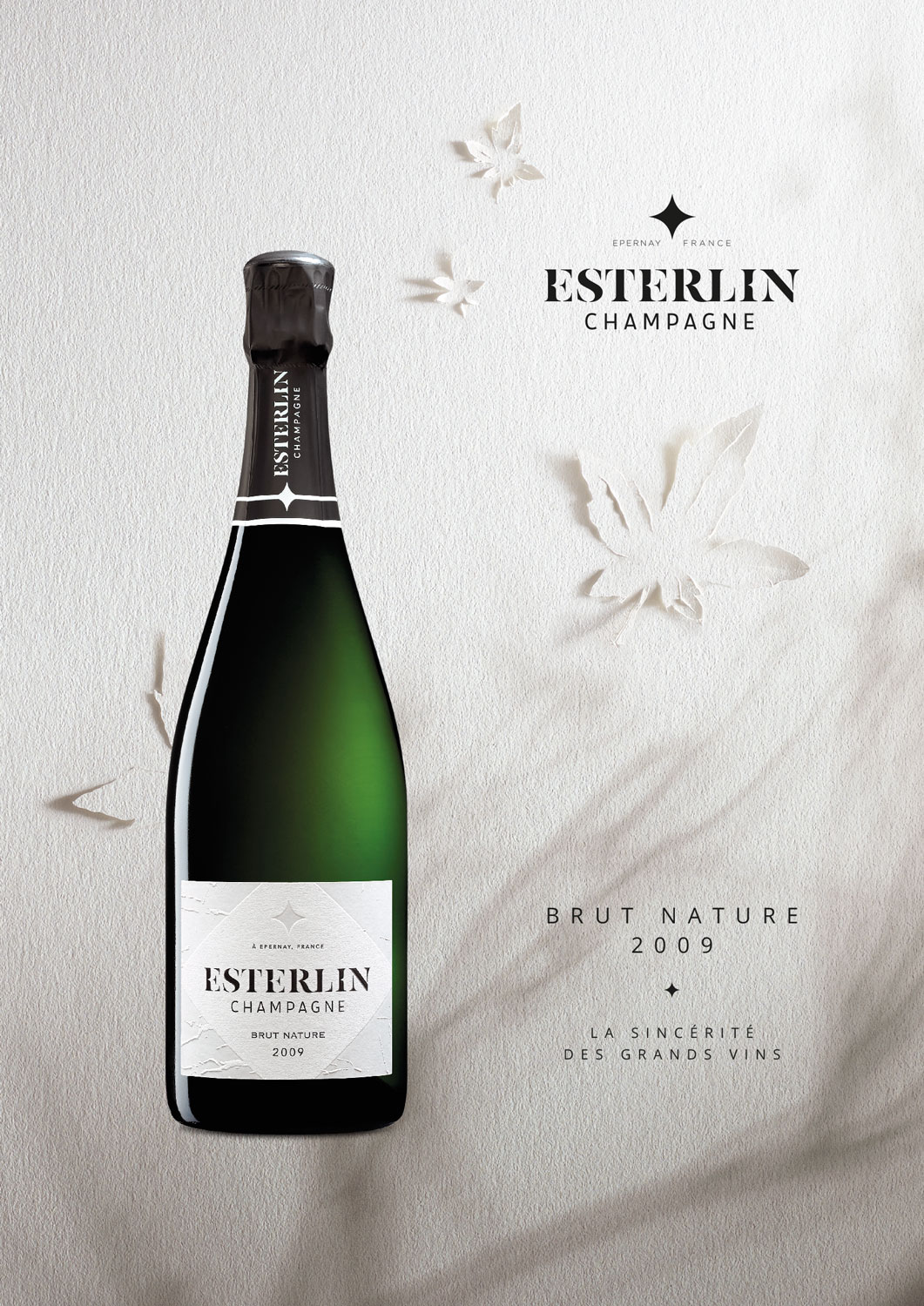 Esterlin Brut Nature 2009 Key Visual