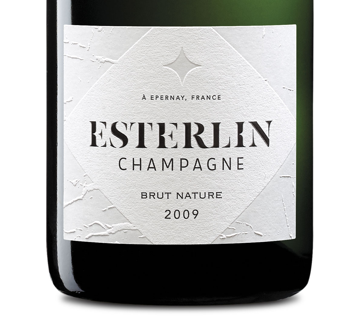 Esterlin Brut Nature 2009 Etiquette
