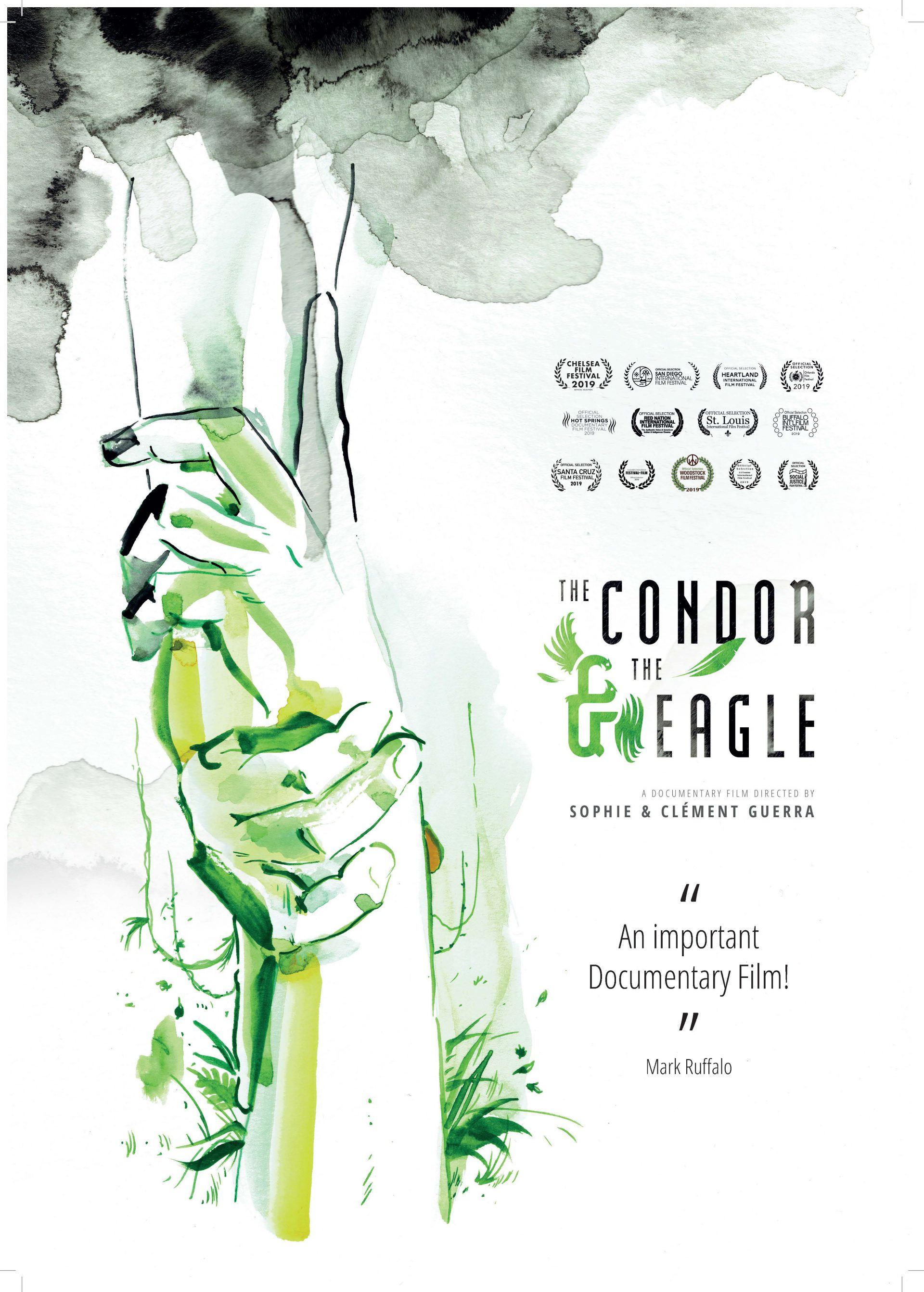 Poster the Condor and the eagle + awards